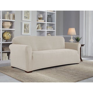 Tailor Fit Stretch Grid Sofa Slipcover