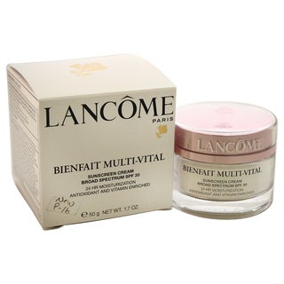 Shop Lancome Bienfait Multi Vital Spf 30 1 7 Ounce Cream