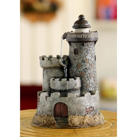 Lighthouse Tabletop Water Fountain