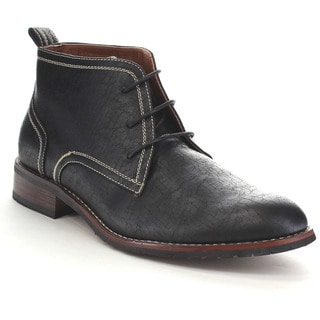 FERRO ALDO MFA-806018 Men's High Top Lace Up Chukka Dress Ankle Boots