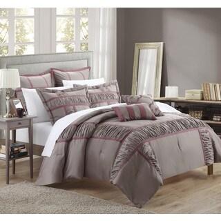 Chic Home Firenze Plum 7-piece Comforter Set
