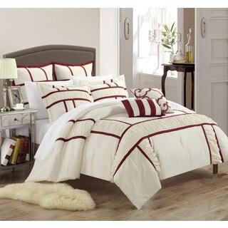 Chic Home Firenze Beige 11-piece Comforter Set