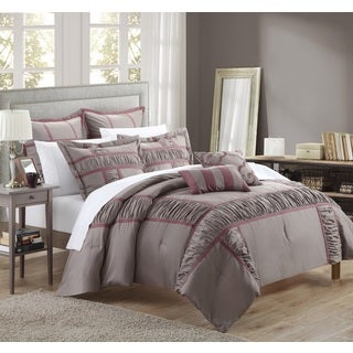 Chic Home Firenze Plum 11-Piece Comforter Set