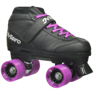 Epic Super Nitro Purple Quad Speed Roller Skates