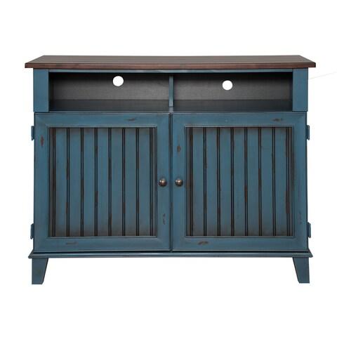 Easley Blue 42-inch Bathroom Console