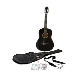 eMedia Essential Guitar Pack with Nylon-string Acoustic Guitar, CD-ROM, and DVD (Win/ Mac)