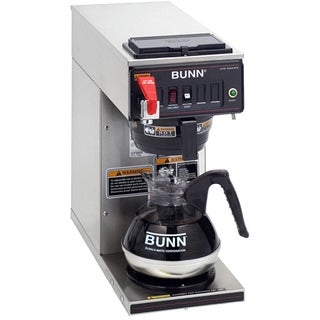 BUNN CWTF-1 Automatic Commercial Coffee Brewer with 1 Warmer