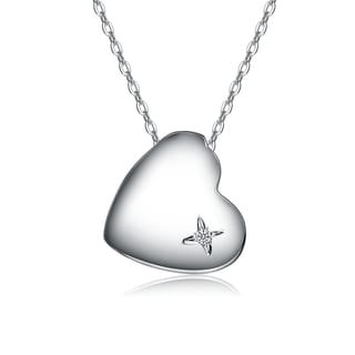 Collette Z Base Metal Heart of Grace Pendant