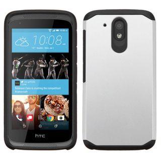 Insten Hard PC/ Silicone Dual Layer Hybrid Rubberized Matte Case Cover For HTC Desire 526