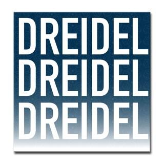 Ready2HangArt 'Dreidel, Dreidel, Dreidel' Hanukkah Canvas Wall Art