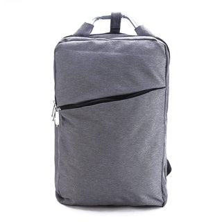 Sturdy Bags Grey 17-inch Laptop Backpack