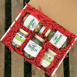 Veggie Wagon Pickle Gift Box