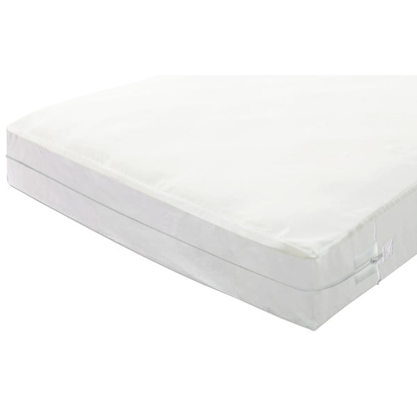 Spring Coil Bed Bug Protector for Mattress 11-13 inches High - White