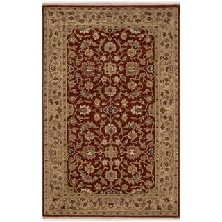Safavieh One of a Kind Collection Hand-Knotted Indo Kerman Wool Rug (5' x 8')