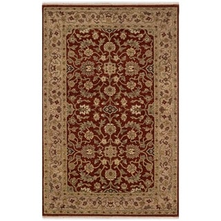 Safavieh One of a Kind Collection Hand-Knotted Indo Kerman Wool Rug (5' x 8') - Multi