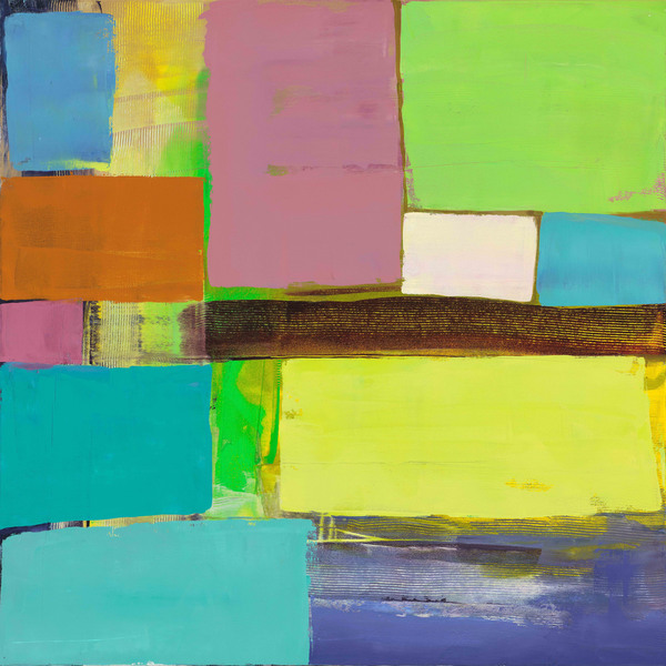 Marmont Hill - New Harmony II by Julie Joy Painting Print on Canvas - Multi-color