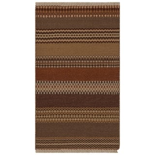 Safavieh One of a Kind Collection Hand-Knotted Loom Kilim Wool Rug (3' x 5')