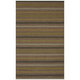 Safavieh One of a Kind Collection Hand-Knotted Loom Kilim Wool Rug (5' x 8') - 5' x 8'