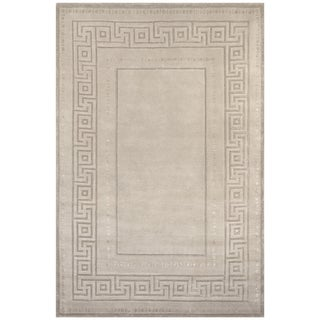 Safavieh One of a Kind Collection Hand-Knotted Tibetan Wool Rug (6' x 9')