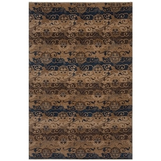 Safavieh One of a Kind Collection Hand-Knotted Tibetan Wool Rug (5' x 8')