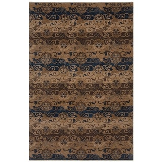 Safavieh One of a Kind Collection Hand-Knotted Tibetan Wool Rug (5' x 8') - Multi - 5' x 8'