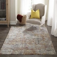 "Momeni Loft Machine Made Polypropylene Multi Area Rug - 7'10"" x 9'10"""