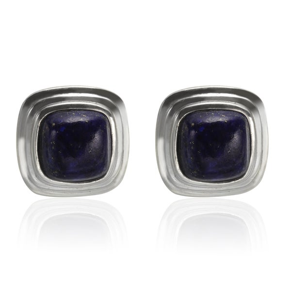 afina lapis tribe artisan blue earrings stud products silver antique the lazuli