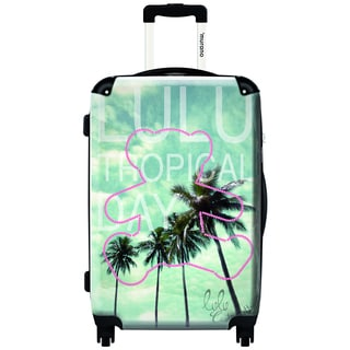 Murano by iKase Tropical Day by Lulu 20-inch Carry On Hardside Spinner Suitcase