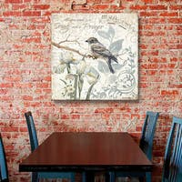 ArtWall Anita Phillips 'A Song and a Prayer' Gallery-wrapped Canvas