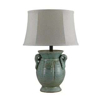 Bombay Metz Patina Porcelain Urn Table Lamp