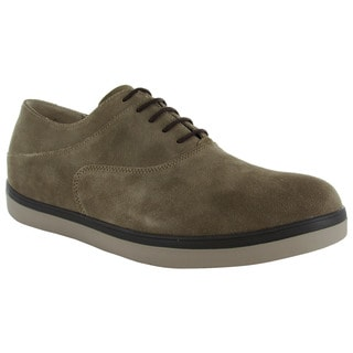 FitFlop Mens Lewis Suede Lace Up Oxfords
