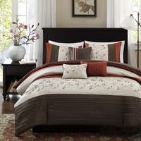 Madison Park Mandara Spice 6-piece Duvet Cover Set