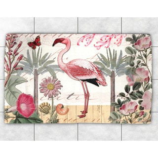 Tropical Flamingo Accent Rug (2' x 3')