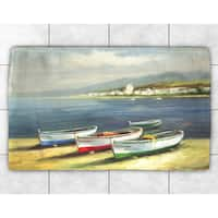 Three Boats Accent Rug