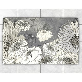 Floral Sketch Accent Rug (2' x 3')