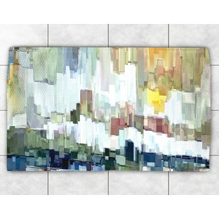 Abstract Brush Strokes Accent Rug (2' x 3')