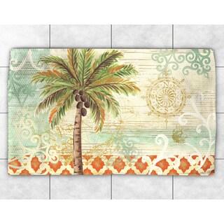 Vintage Palm Accent Rug (2' x 3')