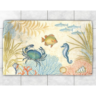 Sea Creatures Accent Rug (2' x 3')