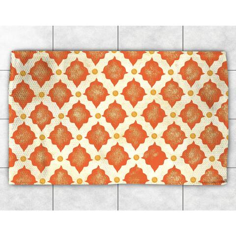 Spice Moroccan Pattern Accent Rug