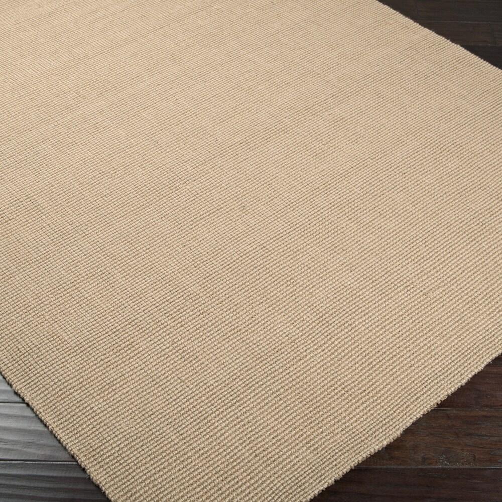 Hand-woven Natural Fiber Jute Area Rug
