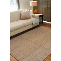 Havenside Home Duck Handmade Natural Fiber Jute Area Rug (5' x 8')
