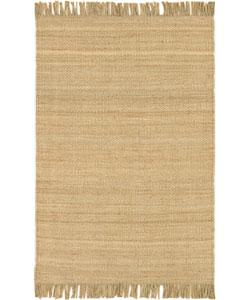 Hand-woven Natural Fiber Jute Rug (2'6 x 7'5)