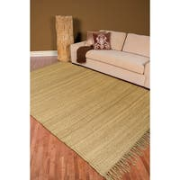 Hand-woven Natural Fiber Jute Area Rug (10' x 13'5)