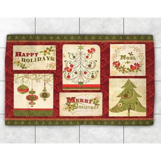 Holiday Greetings Accent Rug (2' x 3')