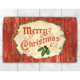 Christmas Accent Rug (2' x 3')