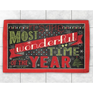 Holiday Words Accent Rug (2' x 3')