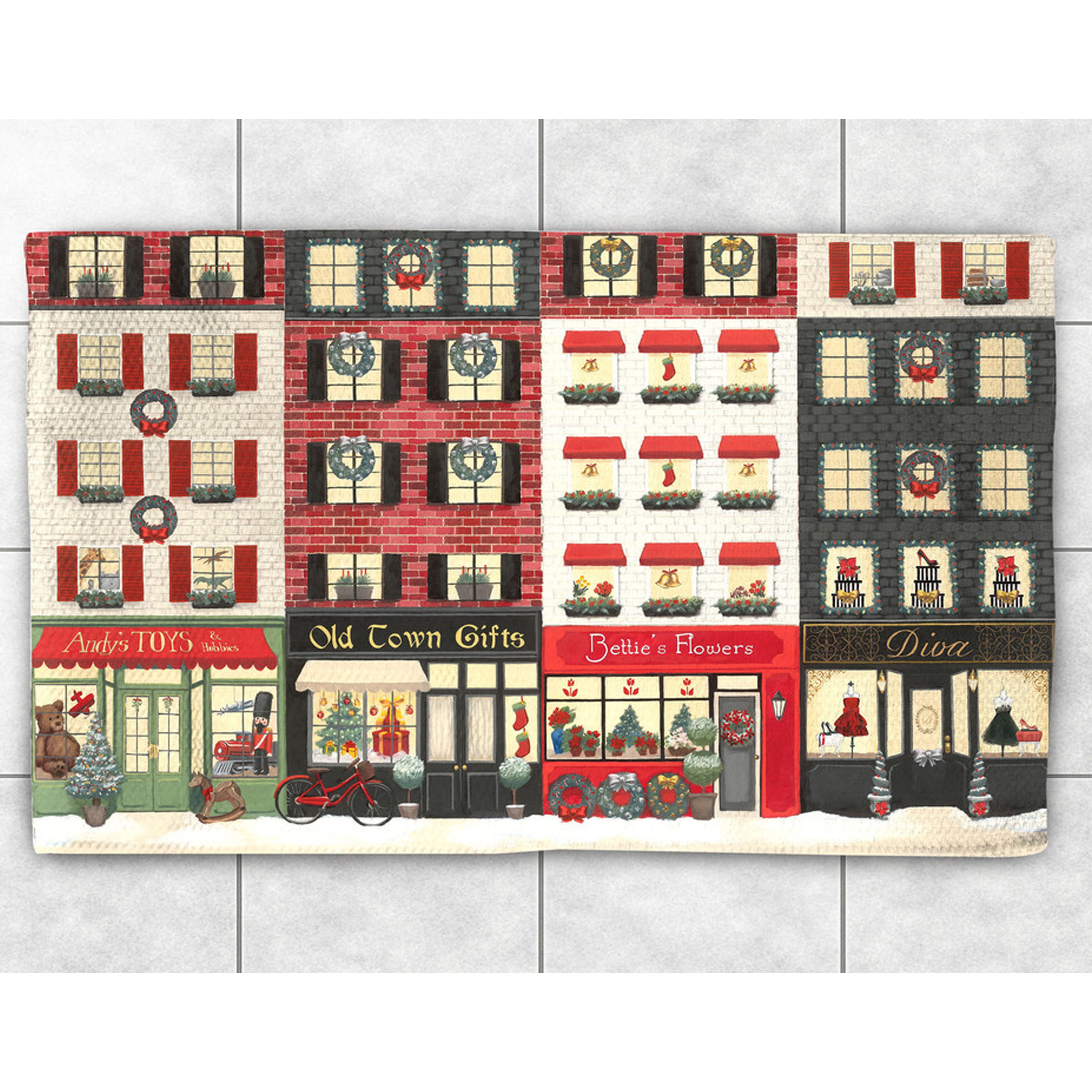 Laural Home Christmas Sidewalk Accent Rug (2' x 3') (size...
