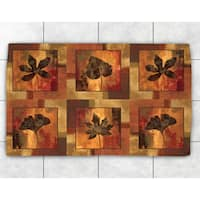 Autumn Leaves Accent Rug