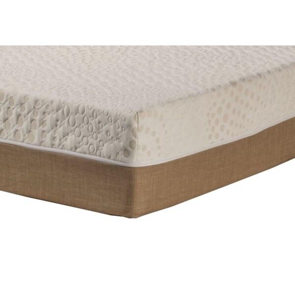 Sleep Zone Malibu 12 Inch Twin Xl Size Memory Foam And