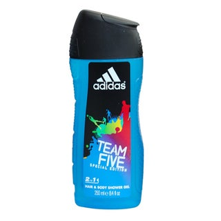Adidas Team Five 2-in-1 Special Edition 8.4-ounce Hair and Body Gel